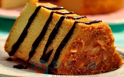 杏仁蜂蜜戚风蛋糕的食材明细——第六味道