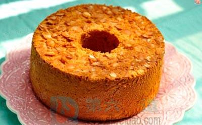 杏仁蜂蜜戚风蛋糕的做法步骤12——第六味道