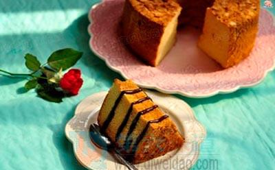 杏仁蜂蜜戚风蛋糕的做法步骤13 ——第六味道
